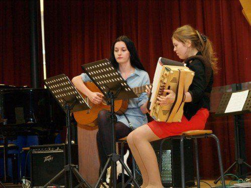 Musik ist am BORG ein beliebtes Unterrichtsfach.