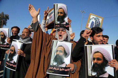 Nach der Hinrichtung al-Nimrs war es in der ganzen Region zu schiitischen Protesten gekommen.