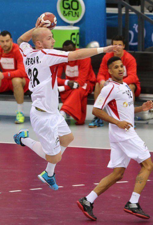 Neo-Teamkapitän Robert Weber soll zumindest in den WM-Qualifikationsspielen wieder dabei sein.