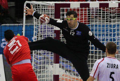 Nikola Marinovic ist mit 164 Länderspielen der dienstälteste Akteur im ÖHB-Kader.  Foto: EXPA