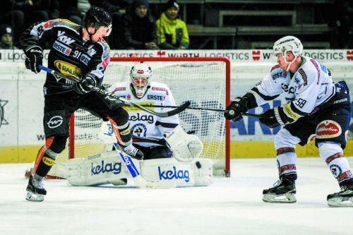 Nur vier Tore in den letzten drei Spielen: Martin Grabher Meier und Co. müssen ihre Visiere wieder besser einstellen.