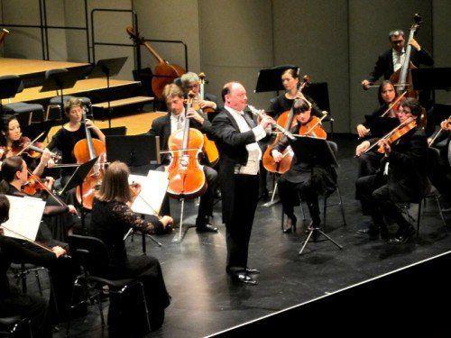 Oboist François Leleux war auch als Dirigent des Symphonieorchesters Vorarlberg ein Glücksgriff.