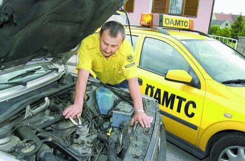 Österreichweit musste der ÖAMTC im vergangenen Jahr zu nicht weniger als 668.000 Einsätzen ausrücken.