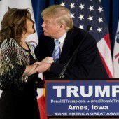Sarah Palin unterstützt Trumps Team