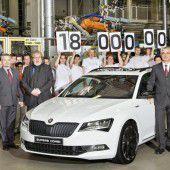 Jubiläum: 18 Millionen Skoda bisher gebaut