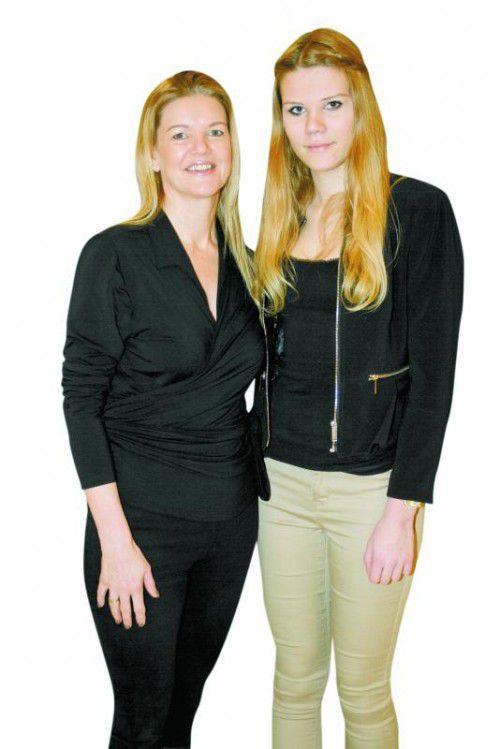 Sabine Büttner (Wolford) und Fabienne Winter (Drissner Immob.).