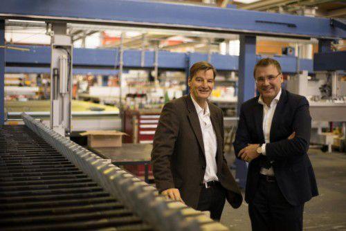 Schelling Anlagenbau (im Bild Wolfgang Rohner und Stefan Gritsch) hat nun seine eigene IT-Dienstleistungsfirma.