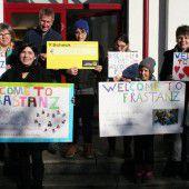 Jugendliche in Frastanz zeigen Solidarität