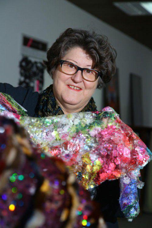 Selma Grabher ist seit vielen Jahren im Organisationskomitee des Stickerballs.