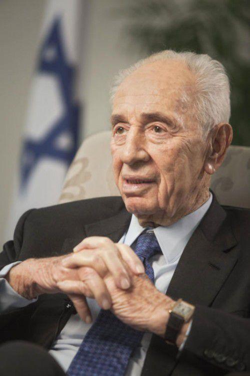 Shimon Peres war von 2007 bis 2014 Israels Staatschef.