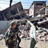Tote und viele Verletzte nach Erdbeben in Indien