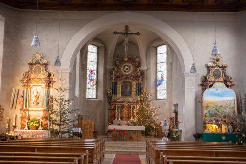 """So kennen die Wallfahrer """"ihre"""" Bildsteiner Kirche. Eine Impression in der Weihnachtszeit."""