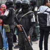 Massives Polizeiaufgebot am fünften Jahrestag der Aufstände in Ägypten