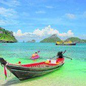 Inselparadies im Golf von Thailand