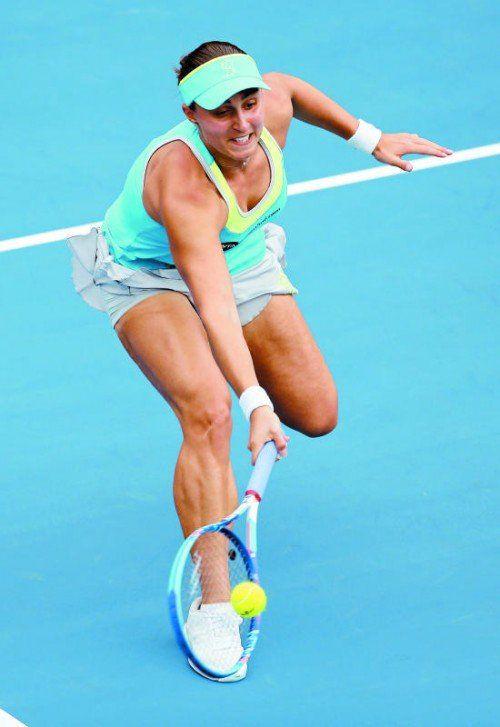 Tamira Paszek reist mit neu gewonnenem Selbstvertrauen und 11.300 Dollar Preisgeld nach Melbourne zu den Australian Open.