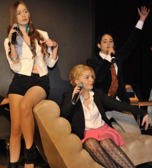Theater ist am Borg Lauterach ein beliebtes Unterrichtsfach.