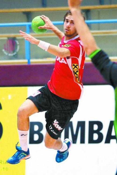 Thomas Weber vom Alpla HC Hard wurde für den verletzten Raul Santos nachnominiert.