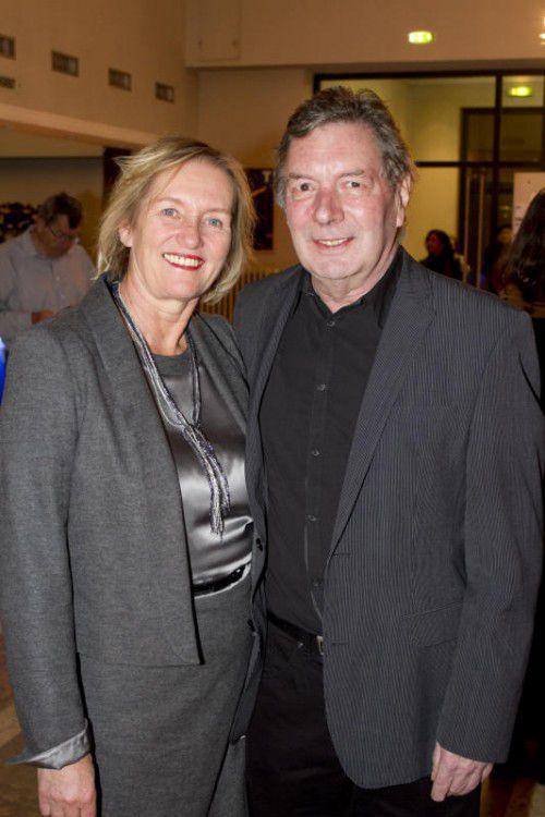 Einer der Referenten: Krebshilfe-Präsident Gebhard Mathis.  franc
