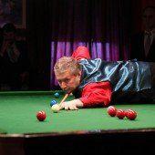 Snooker-Elite gibt sich in Rankweil die Ehre
