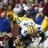 Packers setzten Erfolgslauf der Gastteams fort