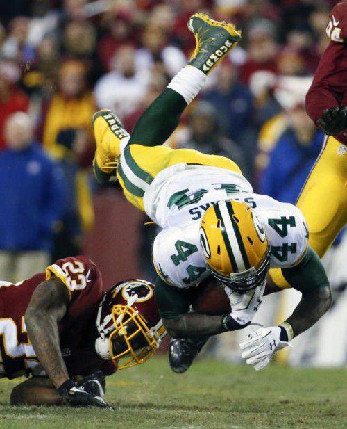 Totaler Einsatz von Packers-Runningback James Starks.
