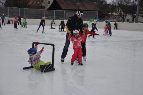 Über 15.500 Besucher kamen heuer bereits zum Eislaufen.