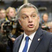 Orban will keine Migranten durch Ungarn lassen
