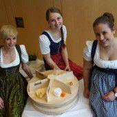 Bühne frei für den Käse