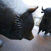 An den Aktienmärkten ist heuer der Bär los