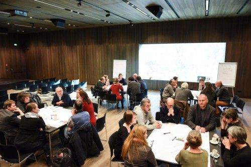 Vor Kurzem fand ein Arbeitsgespräch mit Vertretern von Vorarlberger Kulturinitiativen statt.