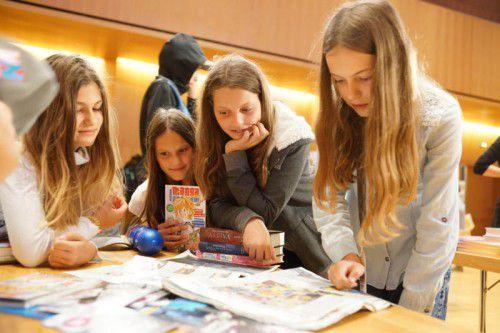 Vorarlbergs Schülerinnen und Schüler haben wieder viel zu lesen.