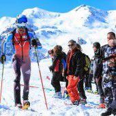 Andelsbuch lockt die Skibergsteiger
