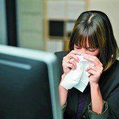 Krank ins Büro oder mal blaumachen