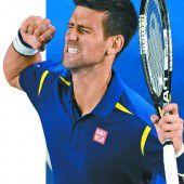 Djokovic bleibt das Maß aller Dinge