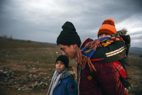 Weiterhin kommen Flüchtlinge über die Balkanroute.