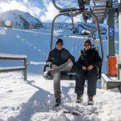 Schnee fürs Auge, aber nicht zum Skifahren