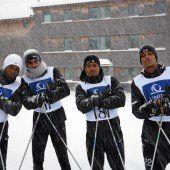 Austria tankt Kraft im Auer Schneegestöber