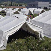 Keine Zelte für Asylwerber
