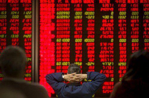 Zwei Mal brachen diese Woche die chinesischen Aktienkurse um mehr als sieben Prozent ein.