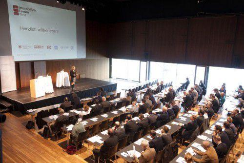 Am 10. März trifft sich die Bau- und Immobilienwirtschaft zum achten Immobilien Forum West in Bregenz.