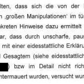 Polizei entlastet Emser Atib