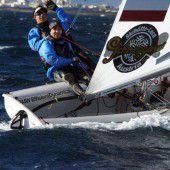Bargehr/Mähr mit Rückstand auf Medal Race