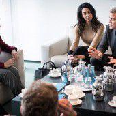 Clooney, Merkel und ein hartnäckiges Gerücht