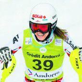 Christine Scheyer holte erste Weltcupunkte