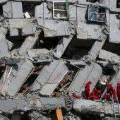 Wettlauf gegen die Zeit nach Erdbeben in Taiwan
