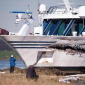 Crash in der Hafeneinfahrt