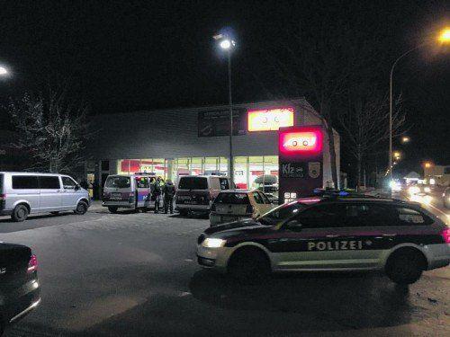 Die A.T.U-Werkstatt in Feldkirch wurde am Donnerstagabend überfallen.