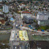 Dornbirner Sägerstraße wird bei der Einmündung Stadtstraße gesperrt