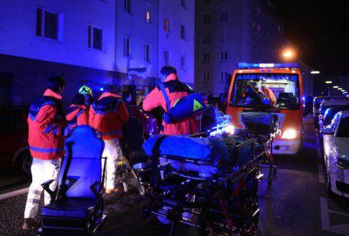Die Feuerwehr war mit 60 Personen im Einsatz.