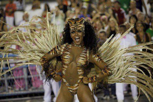 Die Sambaschule Mangueira überzeugte die Jury.